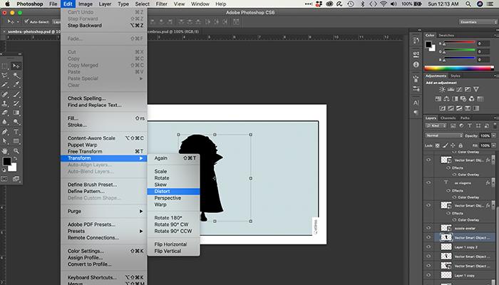 Como fazer sombra no Photoshop