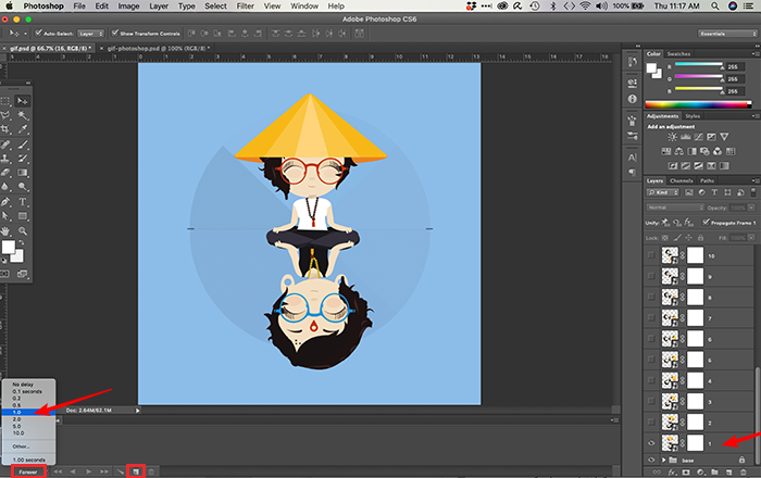 Como fazer um gif no Photoshop