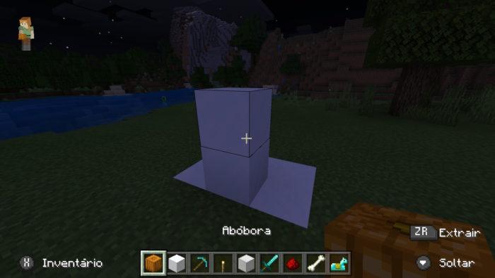 como fazer um golem no minecraft / felipe vinha / reprodução