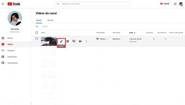 Como inserir capítulos em vídeos longos no YouTube