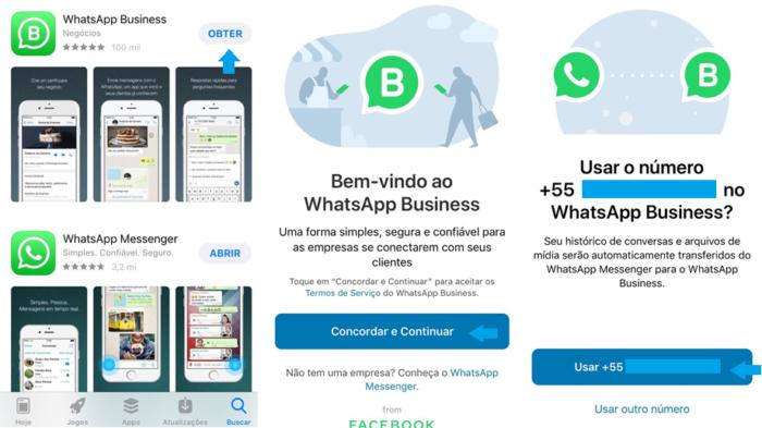WhatsApp Business/Reprodução Gabrielle Lancellotti