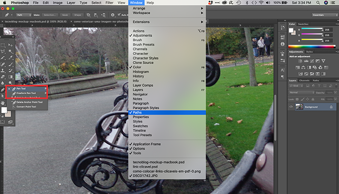 Como vetorizar uma imagem no Photoshop