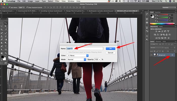 Como desbloquear uma camada no Photoshop