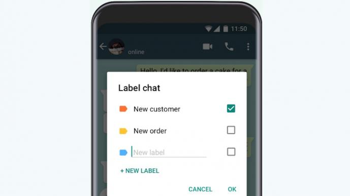 Etiquetas do WhatsApp para empresas/Reprodução/Gabrielle Lancellotti