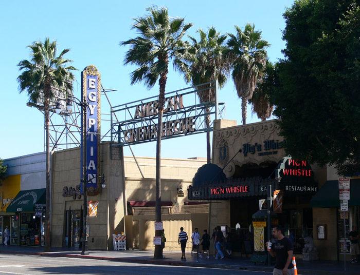 Fachada do Teatro Egípcio de Hollywood