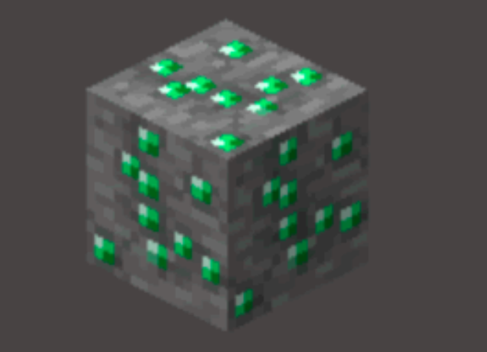 Esmeralda Minecraft / Felipe Vinha / Reprodução