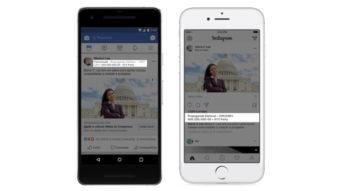 Facebook e Instagram exigem identificação em anúncios políticos