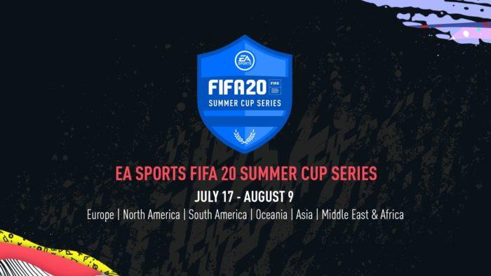 EA anuncia torneio continental online FIFA 20 Summer Cup