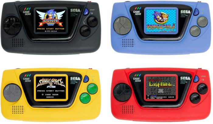 game gear micro todas as cores