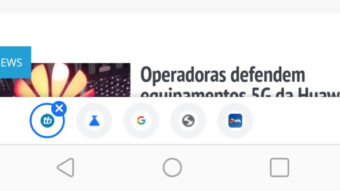 Google Chrome testa barra para alternar entre abas no Android