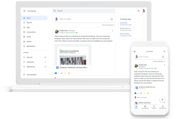 Google+ para empresas ainda existe e agora se chama Currents miniatura