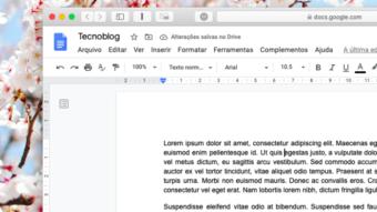 Google Docs dá erro na formatação para quem usa bloqueador de anúncios