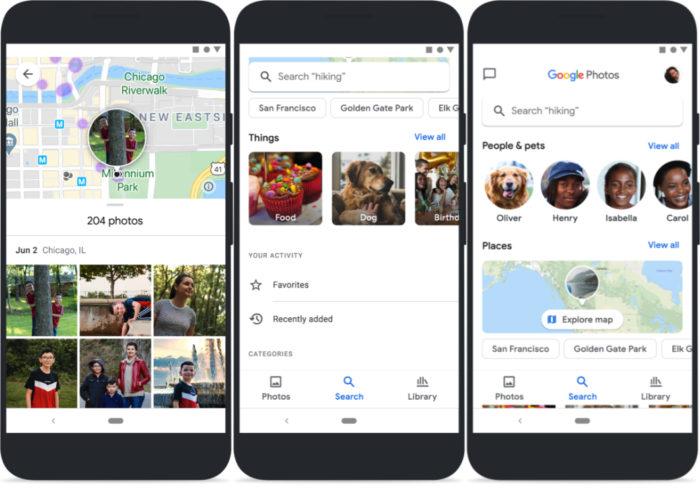 google fotos novo visual android