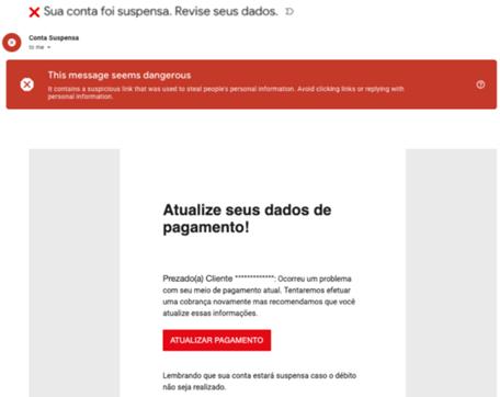 Golpe da Netflix no Gmail