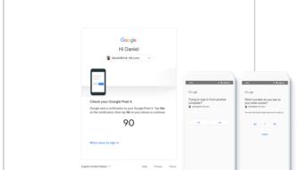 Google vai evitar SMS em login com autenticação de dois fatores