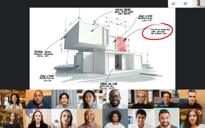 Google Meet ajusta interface e se aproxima do Zoom miniatura