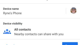 Google lança Nearby Sharing, AirDrop do Android, em beta