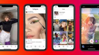 Instagram Reels (Cenas) se expande para concorrer com TikTok