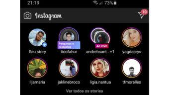 Instagram testa botão para ver todos os stories