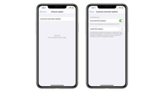 iOS 13.6 beta permite desativar instalação automática de atualizações