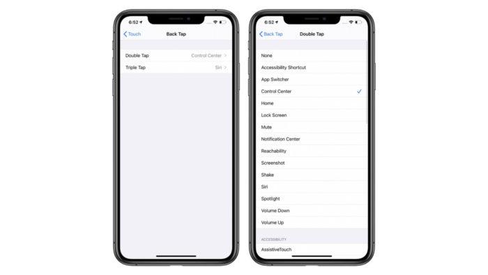 iOS 14 disponibiliza controle de gestos com toques na traseira de iPhone (Foto: Reprodução/MacRumors)