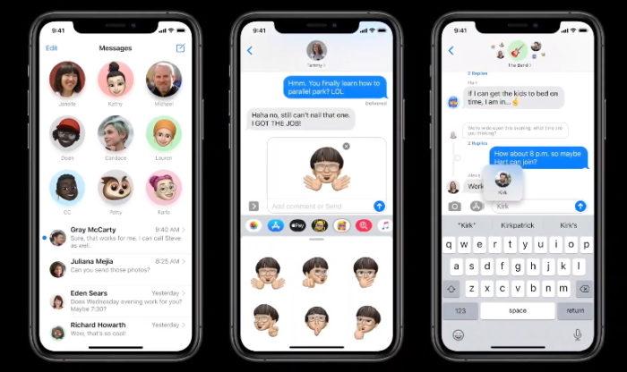 iOS 14 Mensagens