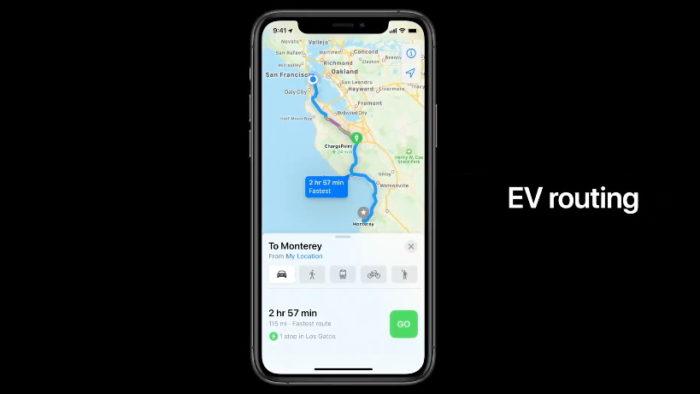 iOS 14 Mapas