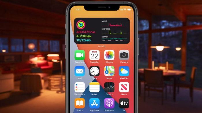 iOS 14 widget