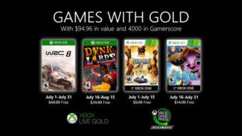 Xbox Live Gold de julho tem WRC, Dunk Lords e mais jogos [2020]