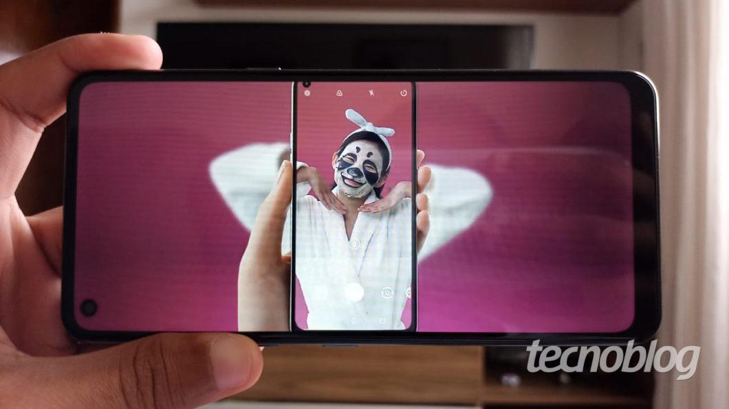 Tela do LG K51S
