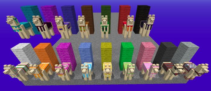 Lhama no Minecraft / Felipe Vinha / Reprodução