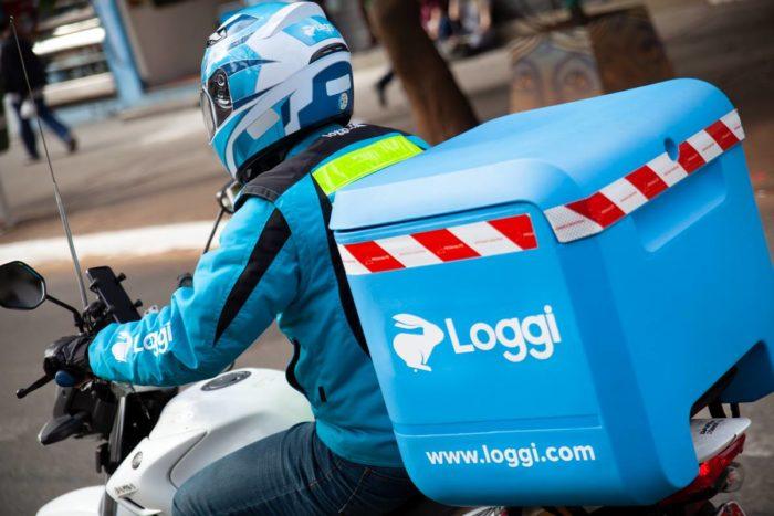 Entregador da Loggi (imagem: divulgação/Loggi)