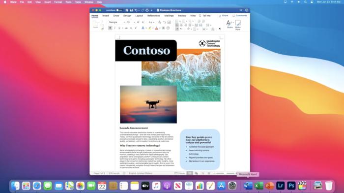 Microsoft Word e outros apps rodam nativamente em ARM no macOS
