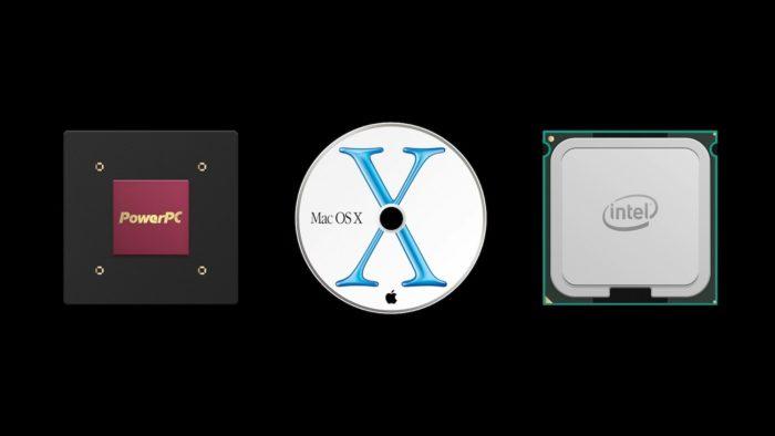 Macs passaram por transição de PowerPC para Intel em 2005