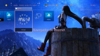 Como usar o navegador de internet no PS4