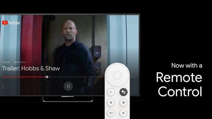 novo chromecast ultra google sabrina controle remoto