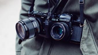 O que é uma câmera mirrorless?