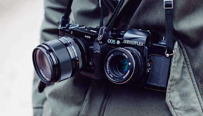 O que é uma câmera mirrorless