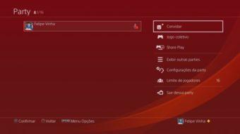 Tudo sobre PS4 Party [como criar, participar e convidar amigos]