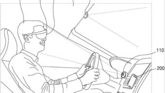 Samsung patenteia óculos AR com navegação curva a curva