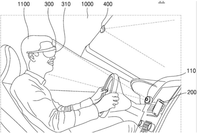 patente samsung oculos ar
