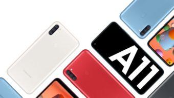 Samsung lança Galaxy A11 e A21s com mais bateria por até R$ 1.999