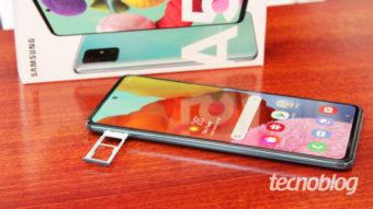 Samsung Galaxy A51 recebe atualização para Android 11 no Brasil