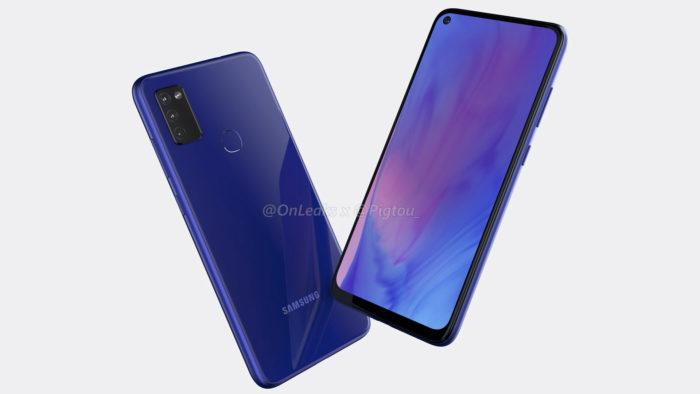 Possível Samsung Galaxy M51 (Foto: Reprodução/OnLeaks/Pigtou)