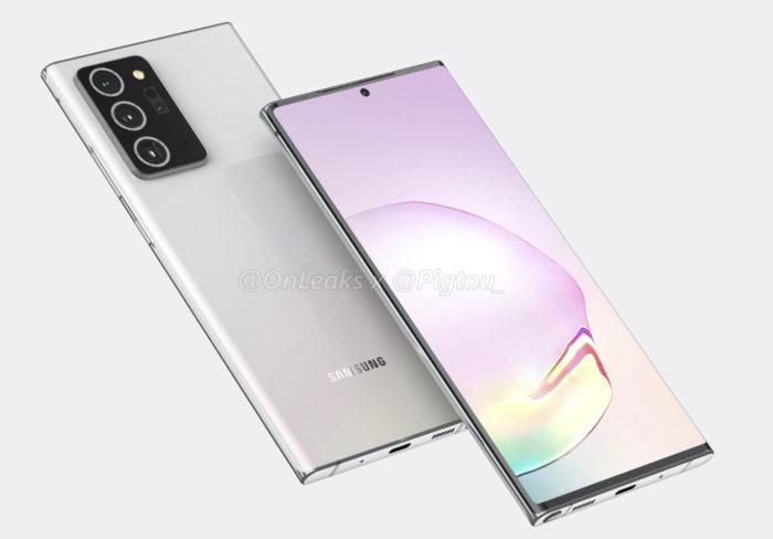 Samsung Galaxy Note 20 Plus (Foto: OnLeaks/Pigtou)