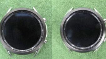 Samsung Galaxy Watch 3 com borda giratória vaza em imagens