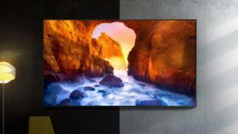 Samsung renova TVs QLED com Alexa, bordas finas e até 85 polegadas