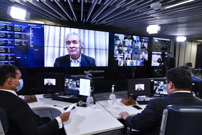 Senado adia votação do PL das fake news (Foto: Waldemir Barreto/Agência Senado - 25/06/2020)