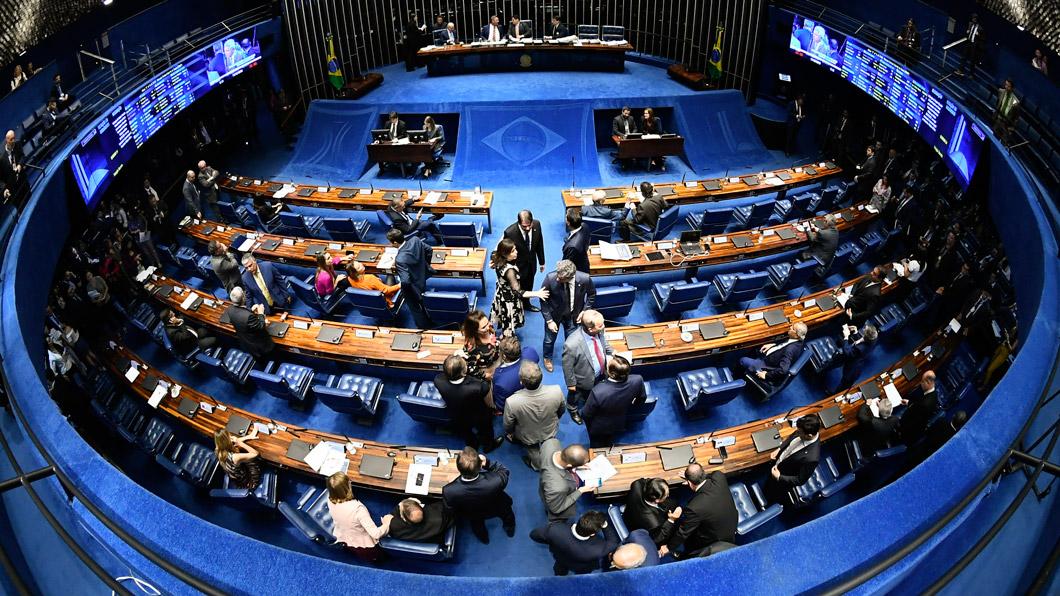 Coalizão pede mais debate sobre PL das fake news (Foto: Marcos Oliveira/Agência Senado - 11/12/2019)