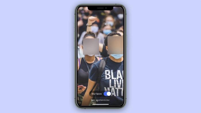 Signal esconde rostos em fotos para usar em qualquer app (Foto: Divulgação/Signal)